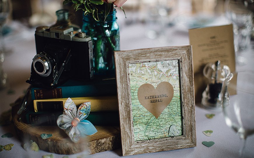 Top 5 Themes For Your Wedding Table Names - Travel inspiration | CHWV