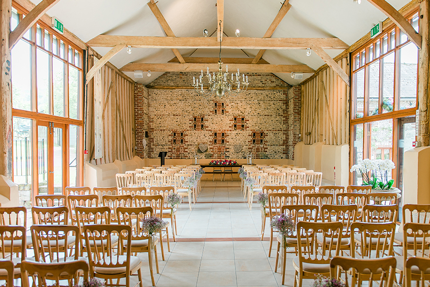 11 Sensational Sussex Wedding Venues - Upwaltham Barns | CHWV