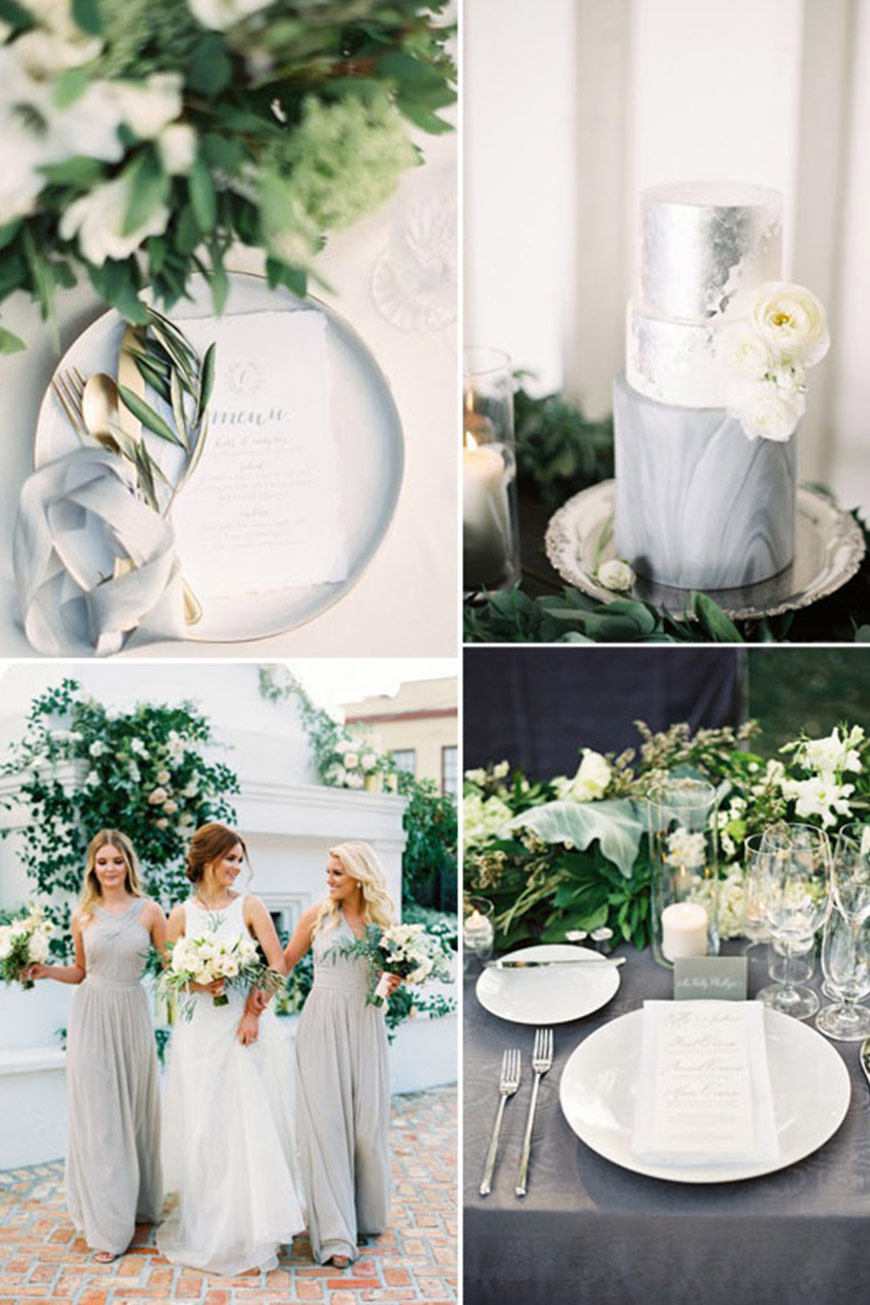 Grey Wedding Theme | Wedding Ideas By Colour | CHWV