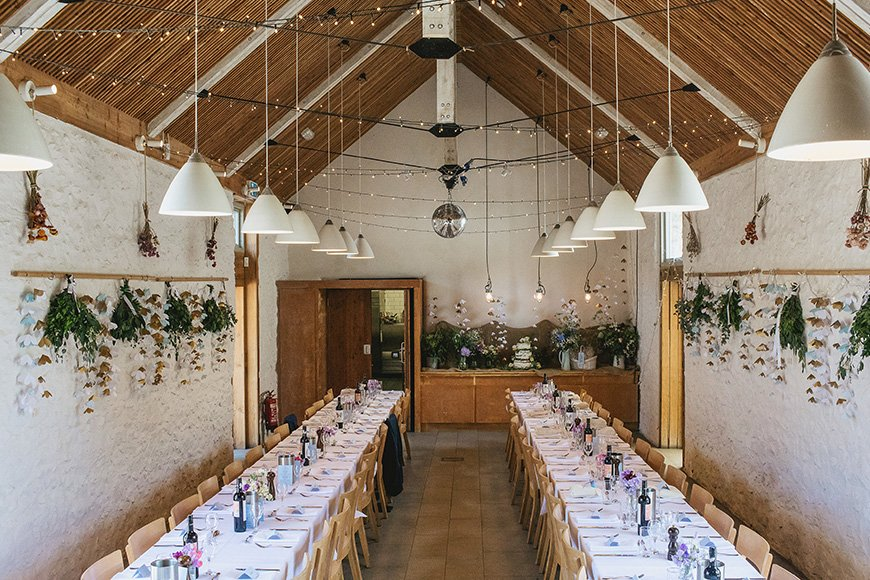 11 Barn Wedding Venues For A Rustic Wedding - River Cottage | CHWV