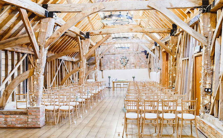 Unique Wedding Venues To Make Your Day Extra Memorable - Bassmead Manor Barns | CHWV
