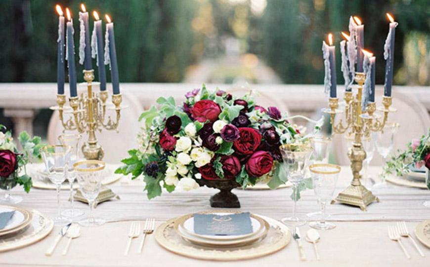 Wedding Ideas By Colour: Bronze Wedding Theme - Bronze with marsarla | CHWV