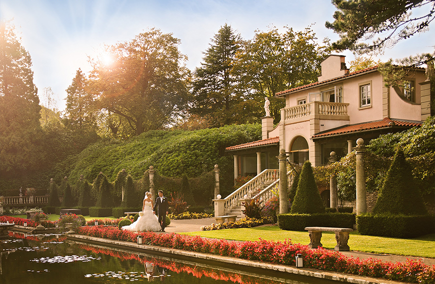 17 Exclusive Wedding Venues For Your Big Day - The Italian Villa | CHWV
