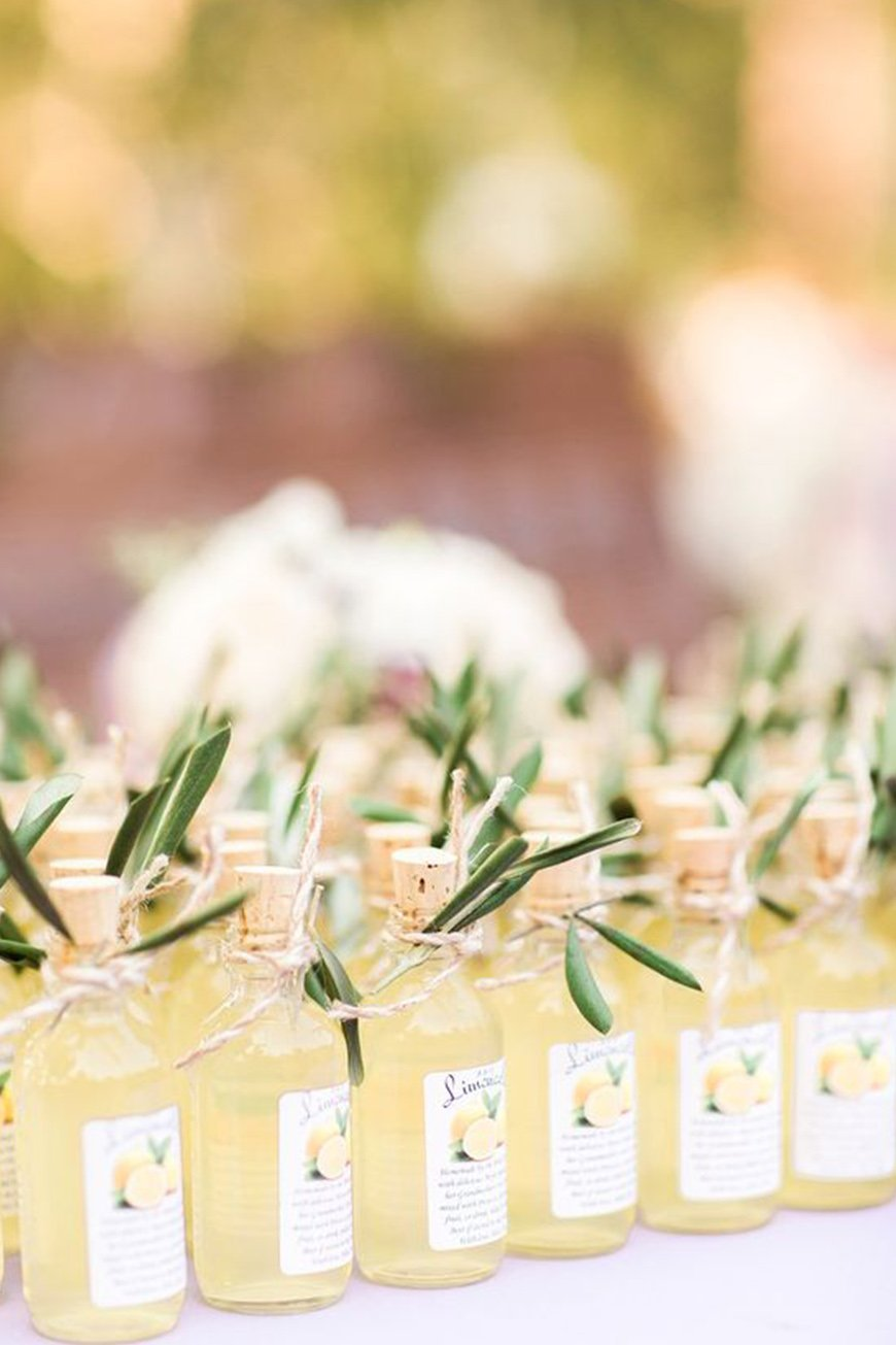 Wedding Ideas By Colour: Lemon Yellow Wedding Ideas - Favours | CHWV