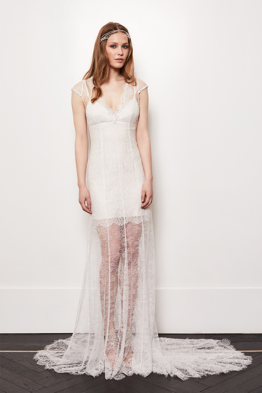 A Closer Look At Amanda Wakeley Wedding Dresses   Lorelei | CHWV