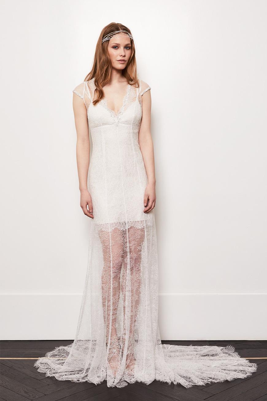 A Closer Look At Amanda Wakeley Wedding Dresses - Lorelei | CHWV