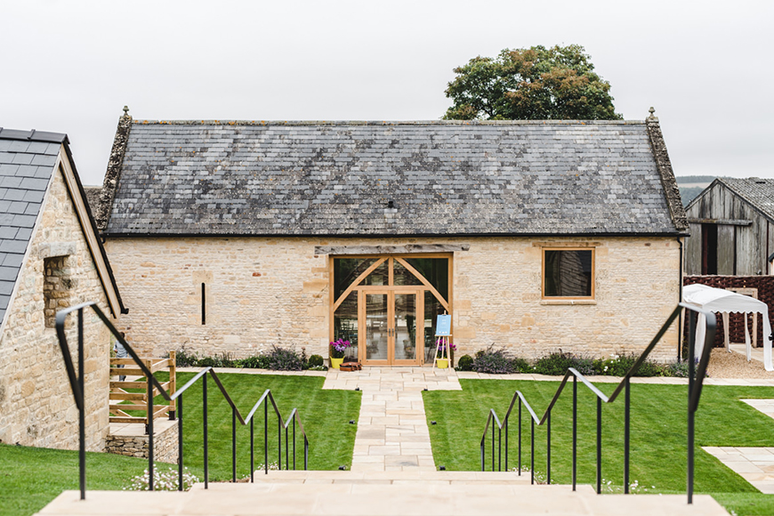 9 Unmissable Cotswolds Wedding Venues - The Barn at Upcote   CHWV
