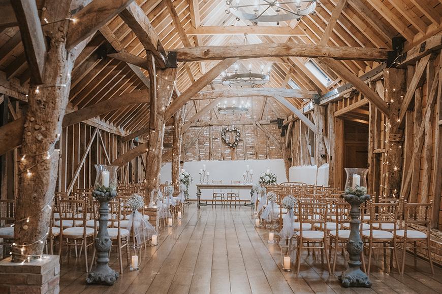 11 Barn Wedding Venues For A Rustic Wedding - Bassmead Manor Barns | CHWV
