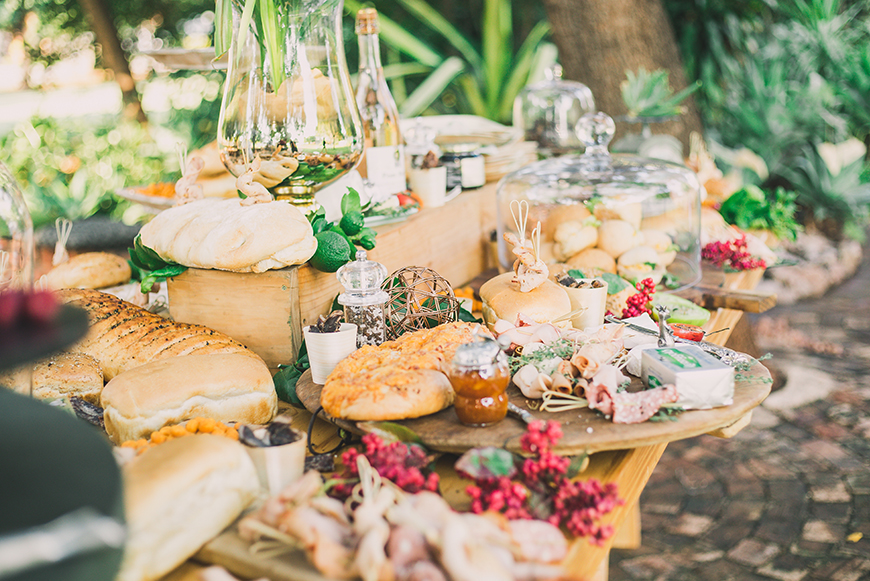 Fabulous Food Station Ideas For Your Wedding Day | CHWV
