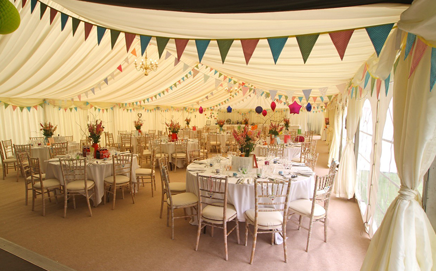 Everything You Need To Know About Marquee Wedding Venues - Brewerstreet Farmhouse | CHWV