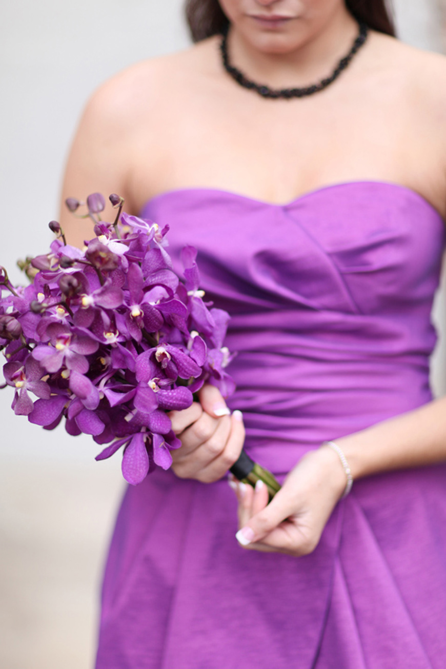 Wedding Ideas By Pantone Colour: Spring Crocus - Wedding day look | CHWV