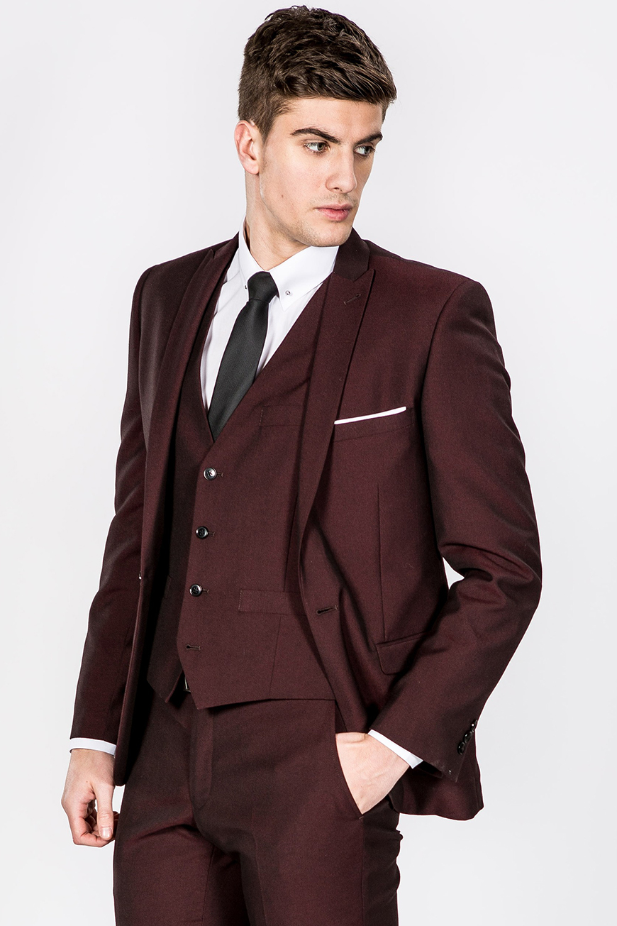 Grooms! Is Burgundy The New Blue? | CHWV