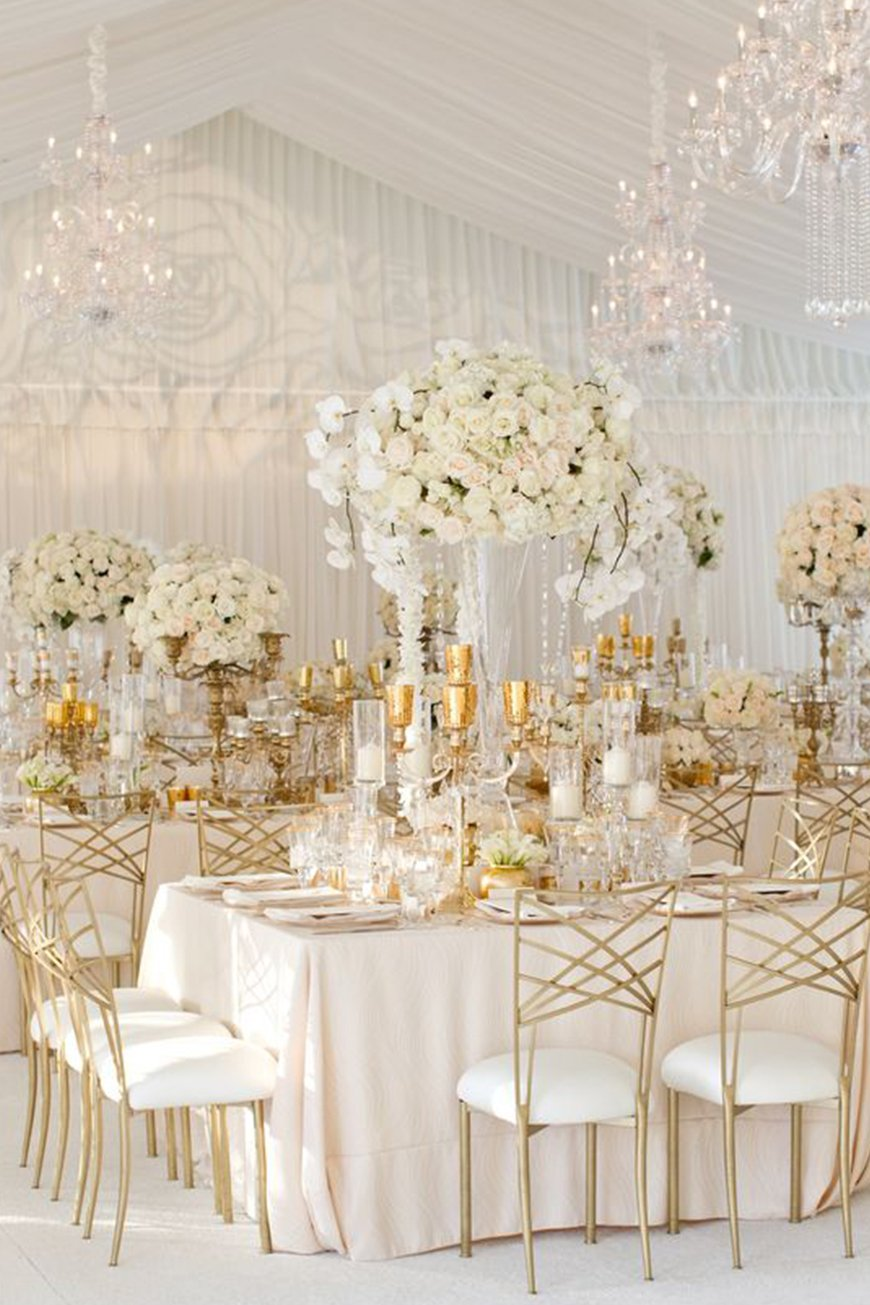 Find The Right Metallic For Your Wedding - All that glitters | CHWV