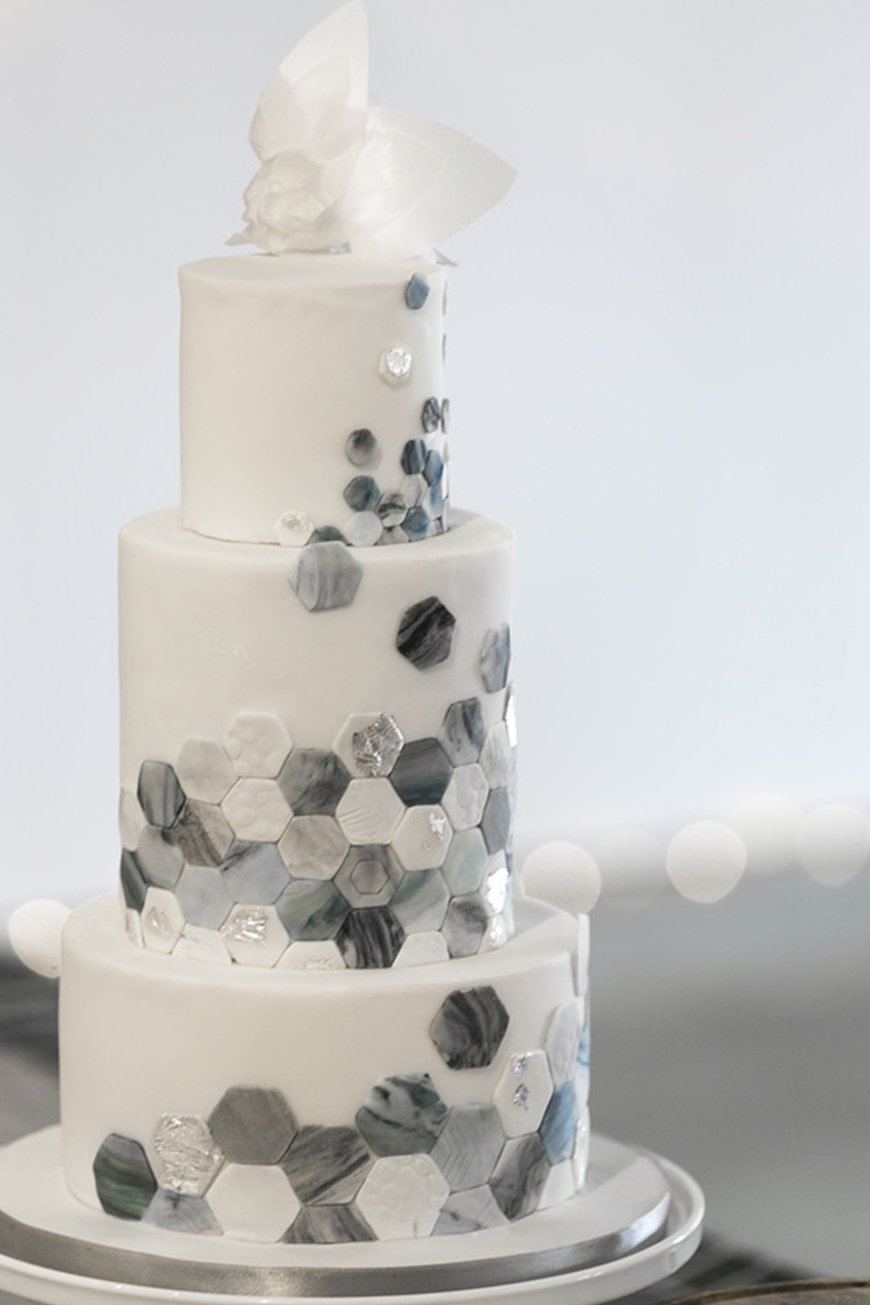 Marble Wedding Cakes Wedding Ideas By Colour Chwv
