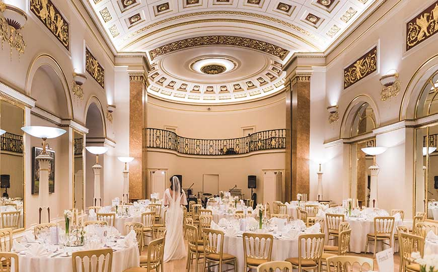 Marry In Style At The Lansdowne Club - Wedding breakfast | CHWV