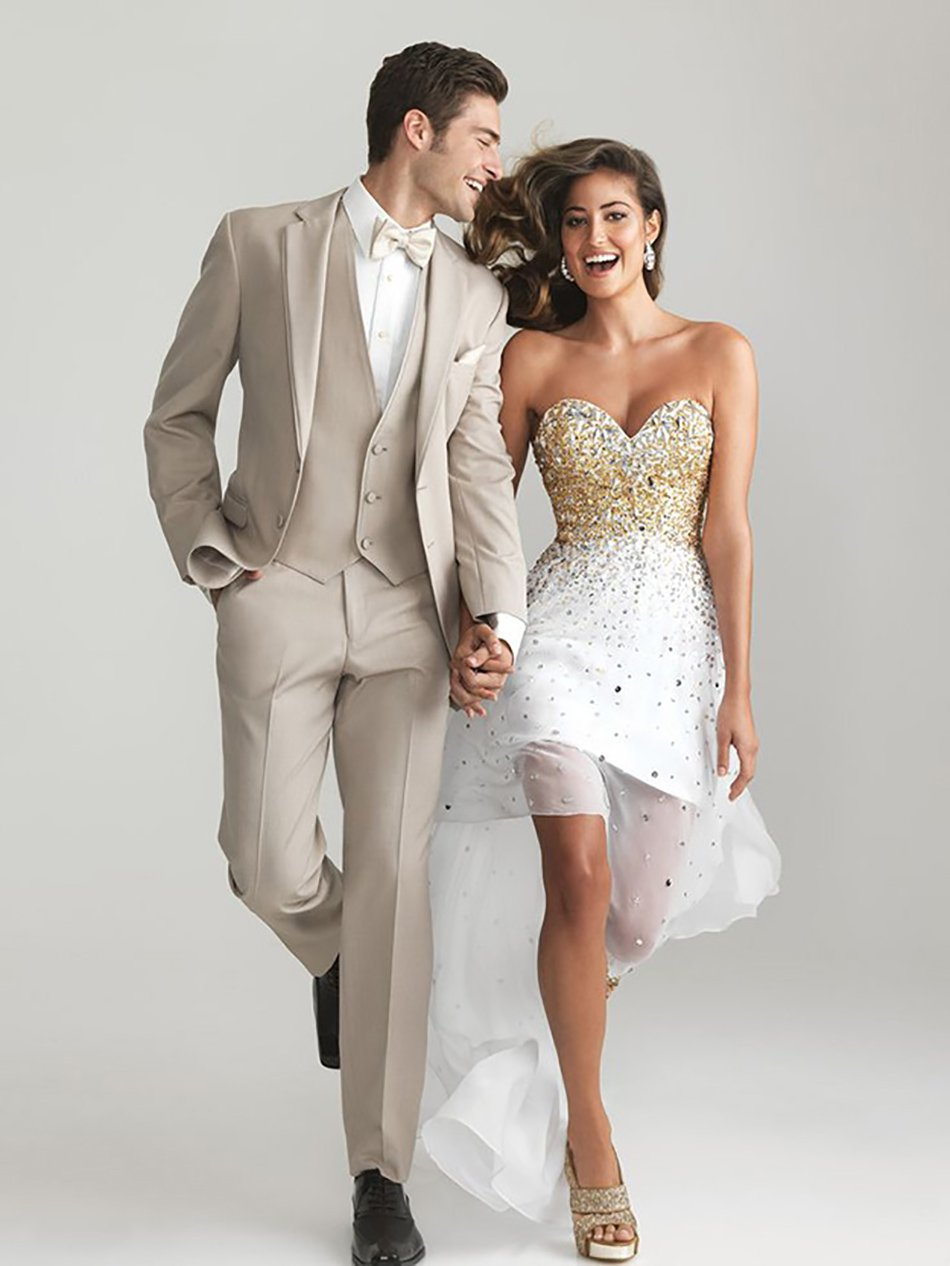 Как одеться паре в одном стиле на свадьбу фото