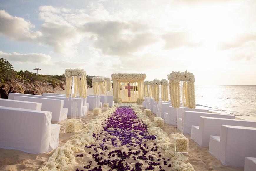 Wedding Ideas By Colour: Purple Wedding Decorations - Saying 'I do' | CHWV