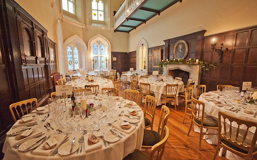 7 Castle Wedding Venues That Are Amazing In Autumn - Chiddingstone Castle | CHWV