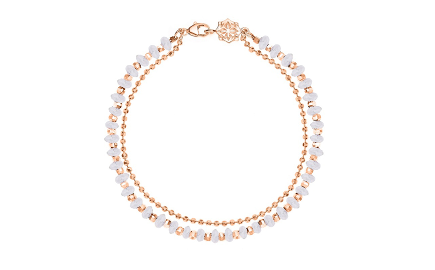 Wedding Ideas By Colour: Gold Wedding Accessories - Elegant necklace | CHWV