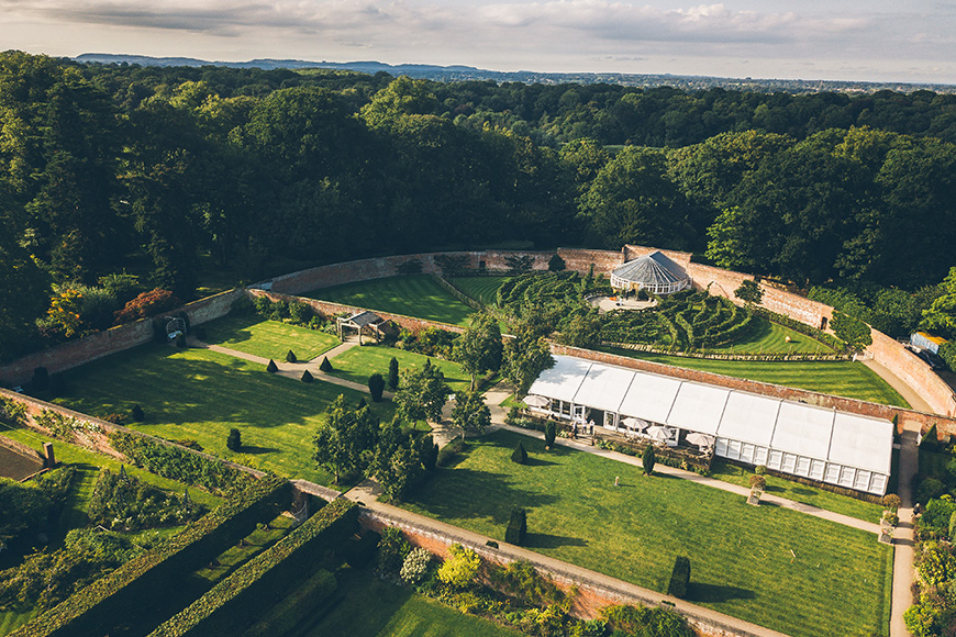 8 Charming Cheshire Wedding Venues - Combermere Abbey | CHWV