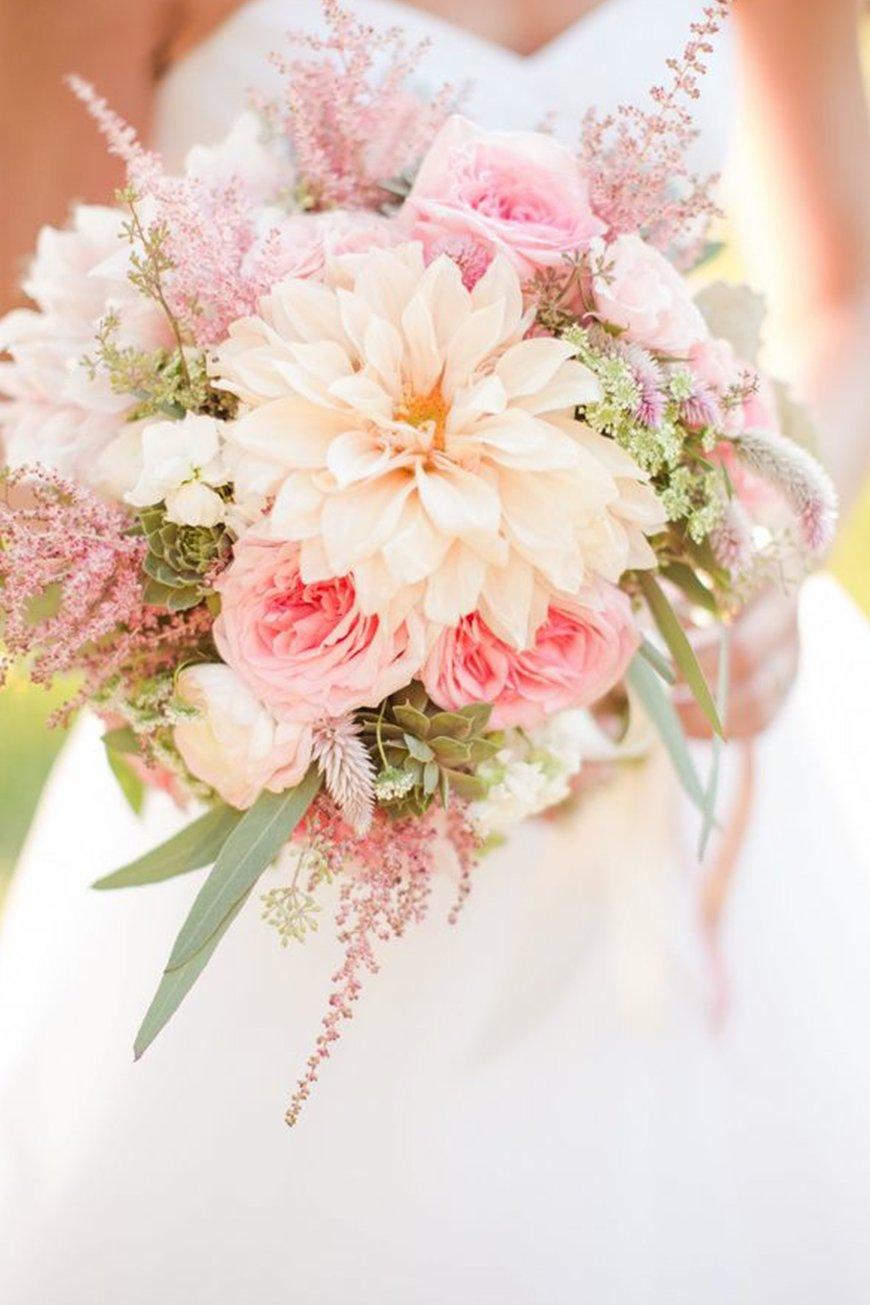Wedding Ideas By Colour: Pink Wedding Theme - Gorgeous flowers | CHWV