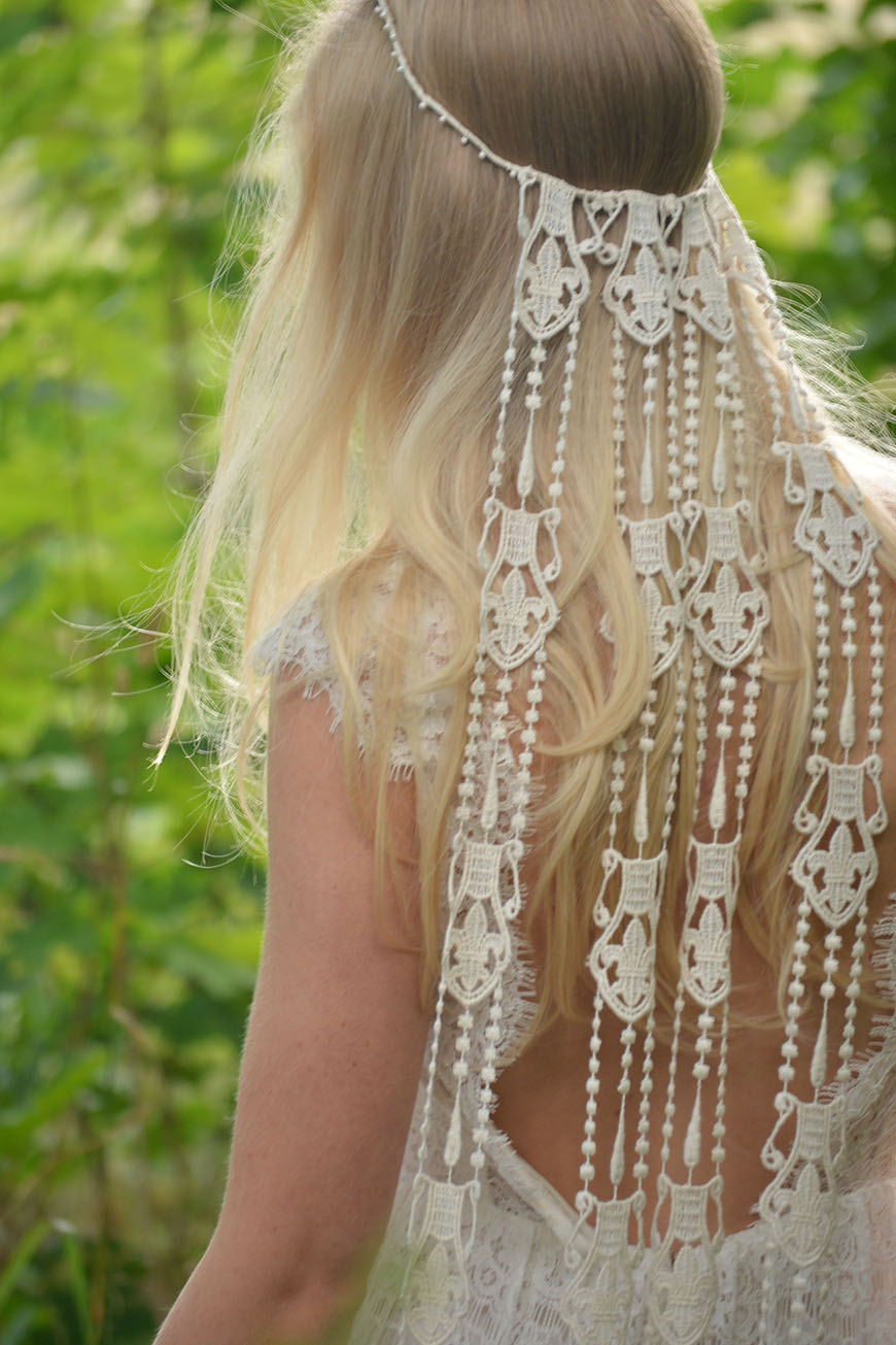 fafcd8a55f2f Boho Wedding Trends - Macramé | CHWV. Image Courtesy of The Faded Sunflower