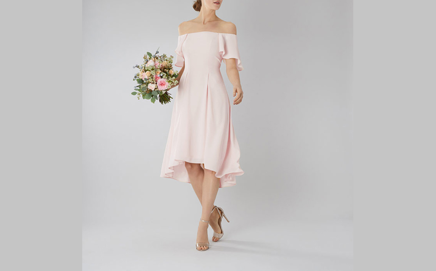 Wedding Ideas By Colour: Pastel Bridesmaid Dresses - In the pink | CHWV