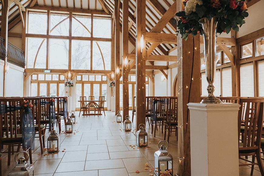 11 Unmissable Modern Wedding Venues - Rivervale Barn | CHWV
