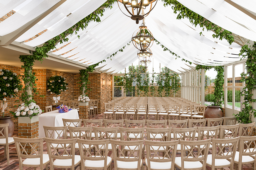 A First Look at 4 Brand-New Wedding Venues - Syrencot | CHWV
