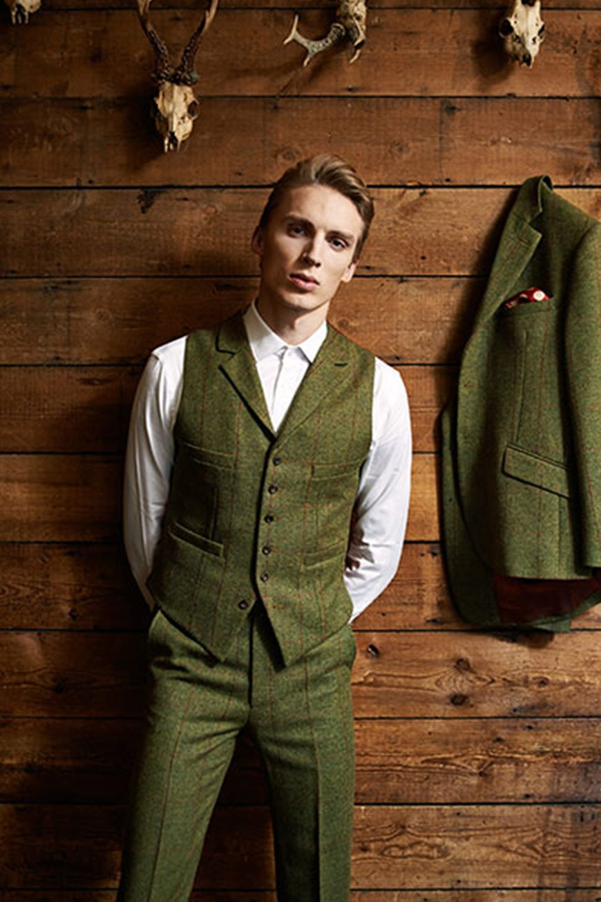 How To Nail That Country Groom Style - Patterns, fabrics and much more   CHWV