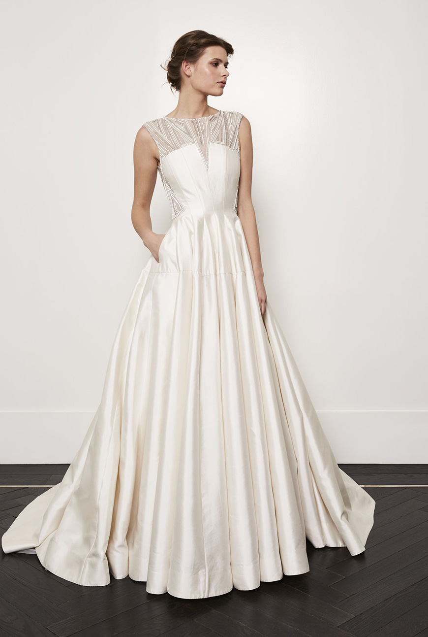 A Closer Look At Amanda Wakeley Wedding Dresses - Ivy | CHWV