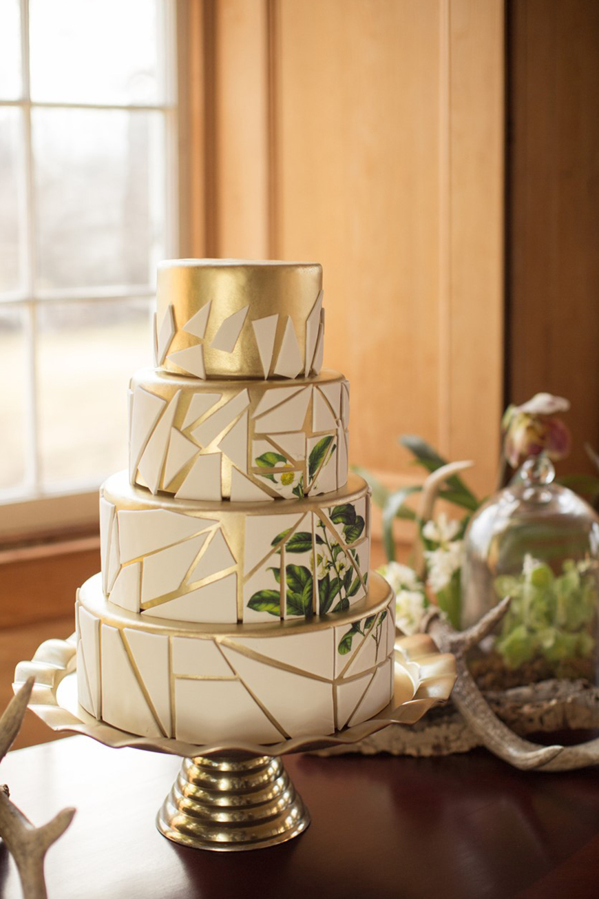 A-Z of Wedding Cakes - Geometric | CHWV