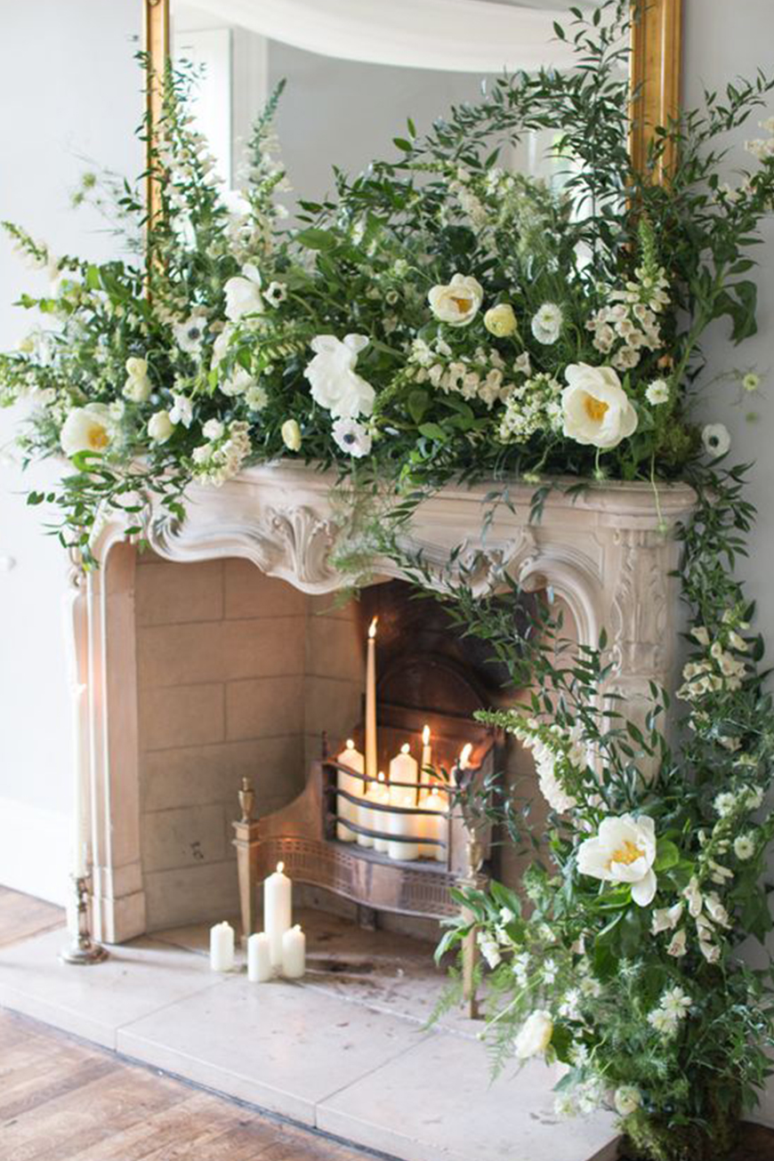 Our Venue Specialist's Perfect Wedding At Blackwell Grange - Fireplace | CHWV