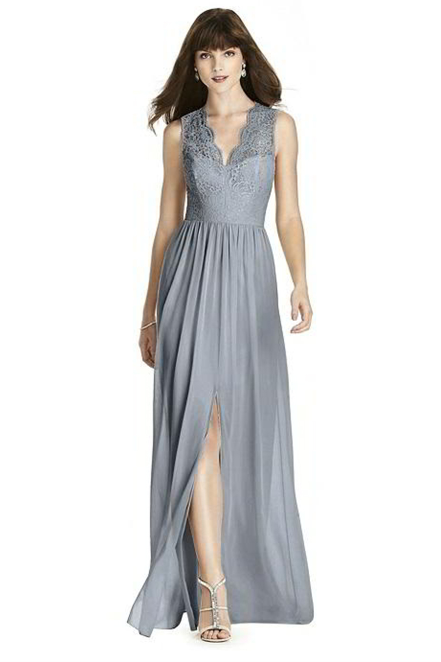 Wedding Ideas By Colour: Grey Bridesmaid Dresses | CHWV