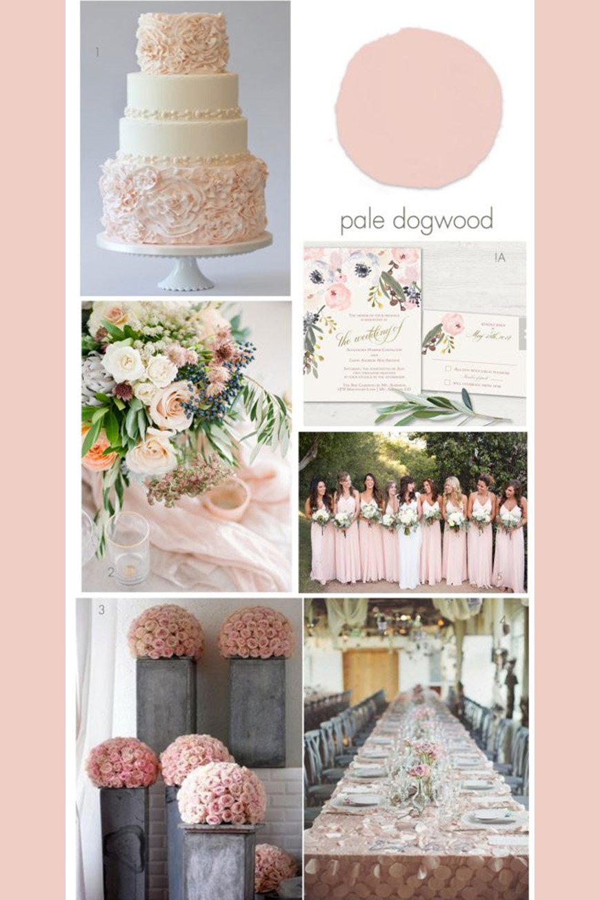 Wedding Ideas By Colour: Millennial Pink Wedding Theme - Venue decor | CHWV
