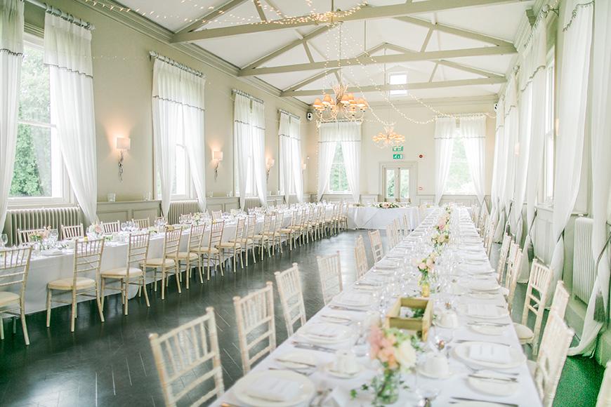 11 Unmissable Modern Wedding Venues - Modern Hall | CHWV