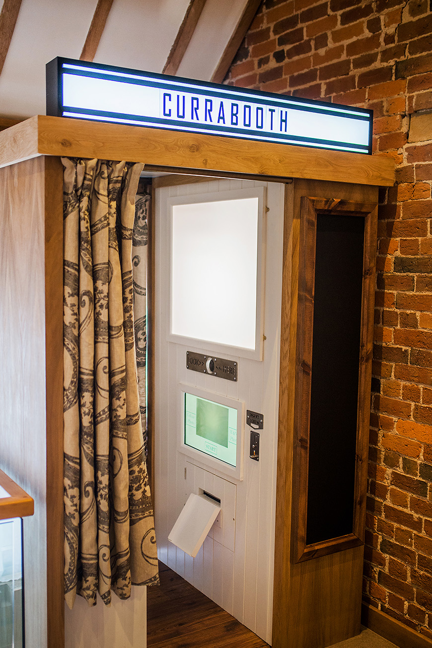 Exciting New Features At Curradine Barns - New photobooth | CHWV