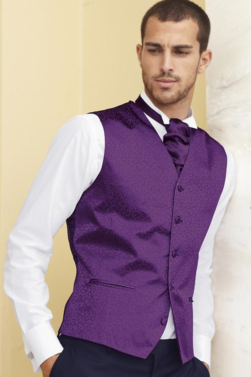 Wedding Ideas By Pantone Colour: Ultra Violet - Your Ultra Violet wedding day look | CHWV