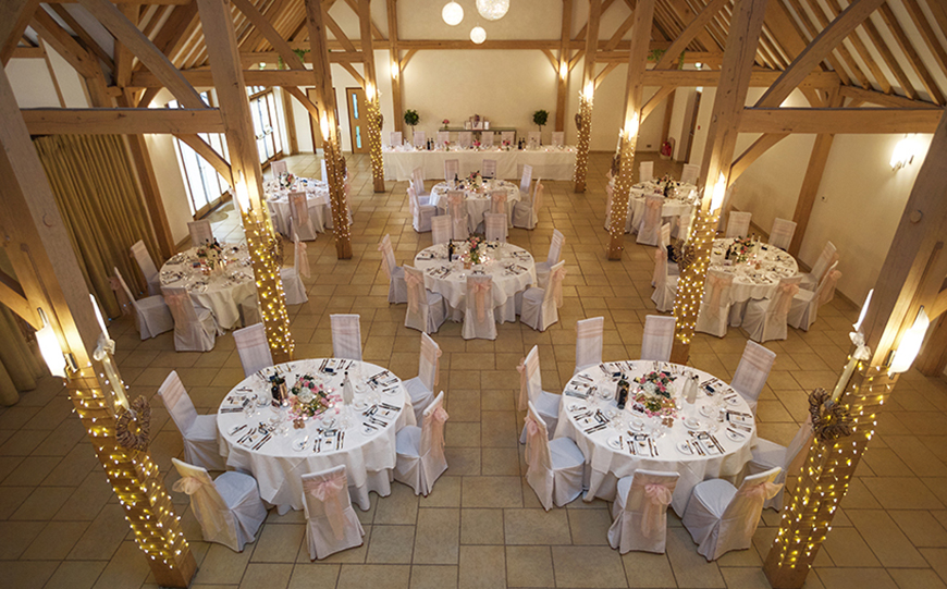 Incredible Last-Minute Wedding Venues That Could Save You A Fortune - Rivervale Barn | CHWV