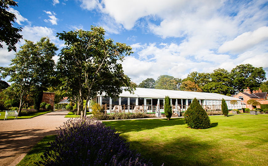 Everything You Need To Know About Marquee Wedding Venues - Combermere Abbey | CHWV