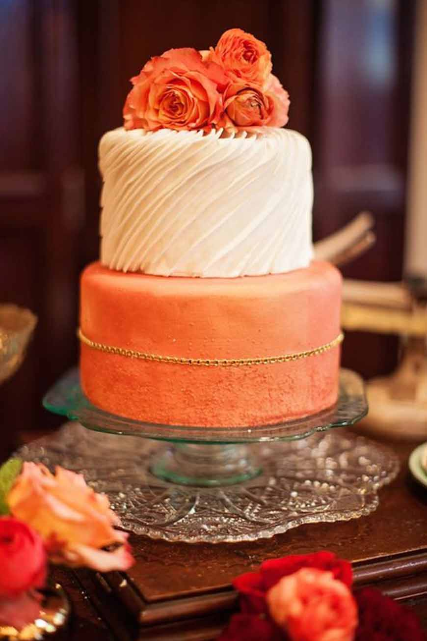 wedding cake orange orange wedding cakes wedding ideas by colour chwv 23347