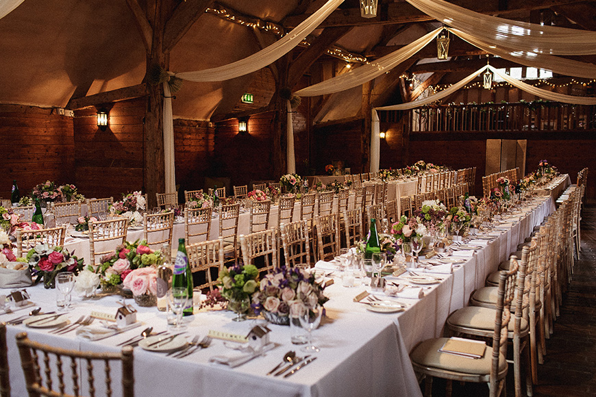 11 Barn Wedding Venues For An Autumn Wedding - Lains Barn | CHWV