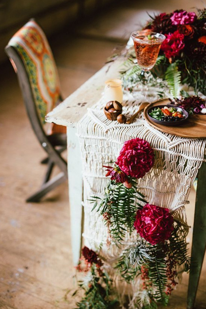 Boho Wedding Trends - Macramé | CHWV