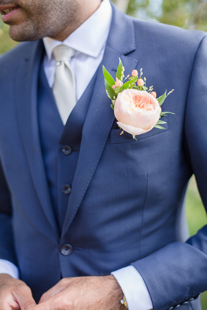Wedding Ideas By Colour: Navy and Blush Wedding Theme - Groom style | CHWV