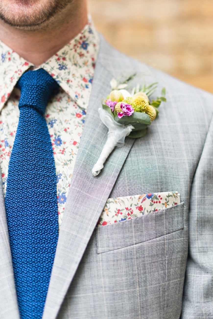 How To Nail That Country Groom Style - Patterns, fabrics and much more | CHWV