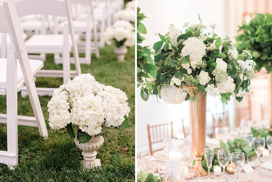 White Hydrangea Wedding Flowers perfect for your big day