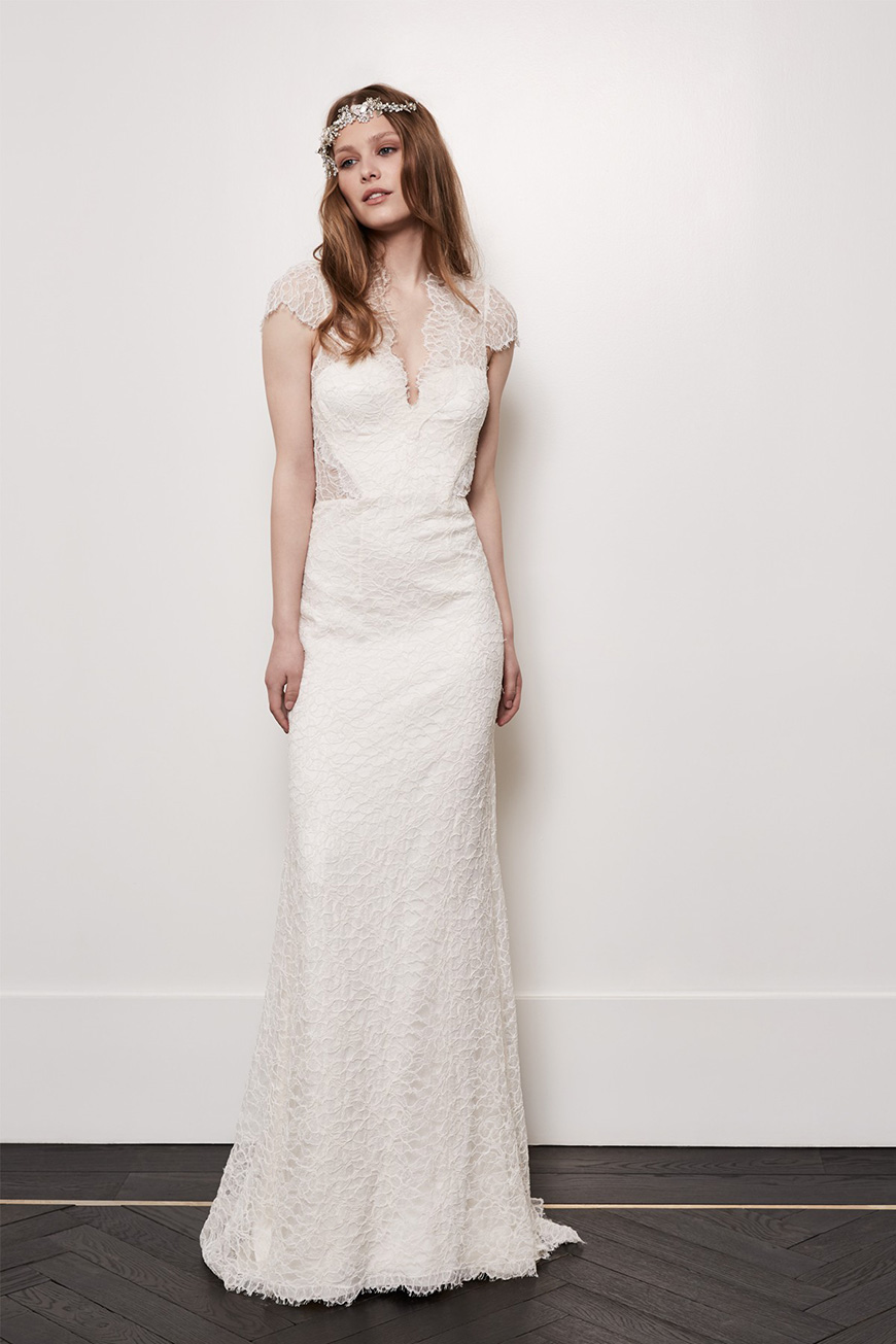 A Closer Look At Amanda Wakeley Wedding Dresses - Alice | CHWV