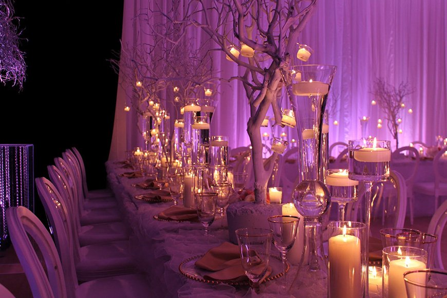 Purple Wedding Decorations Wedding Ideas By Colour Chwv