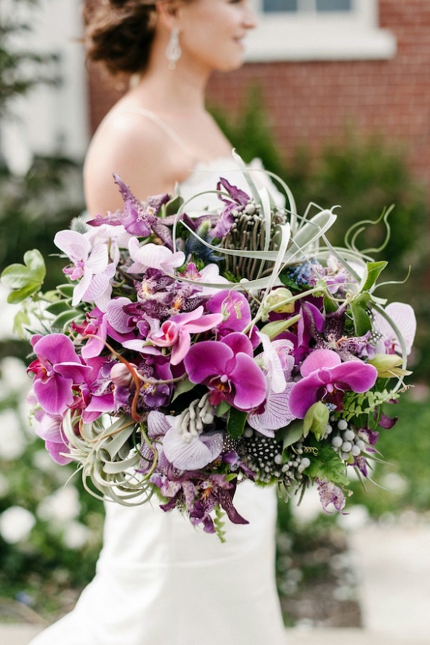 Wedding Ideas By Pantone Colour: Spring Crocus - Flowers, cakes and more | CHWV