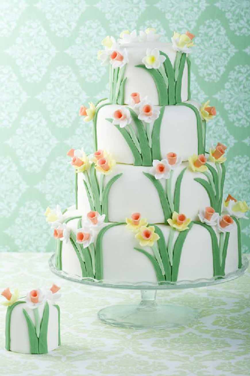 Wedding Ideas By Colour: Orange Wedding Cakes - Cool and quirky   CHWV